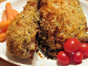 Honey-Mustard-and-Garlic-Oven-Fried-Chicken