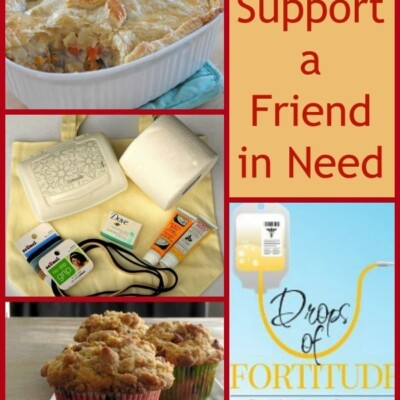 Collage of how to support a friend in need