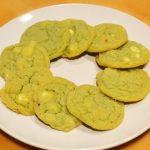 Pistachio Cookies Plate
