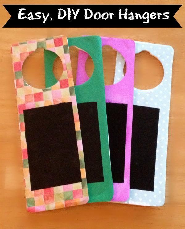 DIY Door Hangers