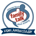 Mom ambassador family talk logo