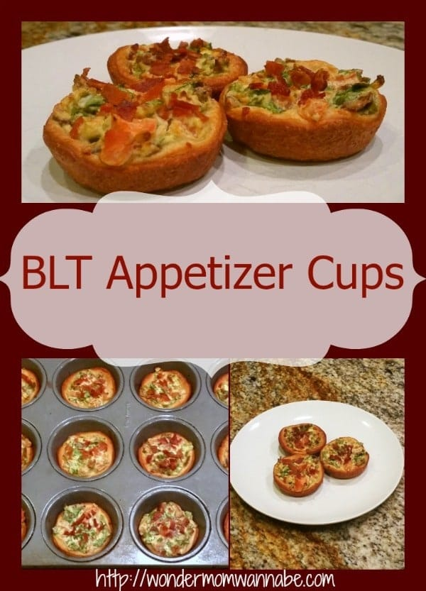 All the flavor of the popular sandwich packed into a bite-sized treat. These BLT appetizer cups will be a hit at your next party. #bltappetizercups #blt #appetizer via @wondermomwannab