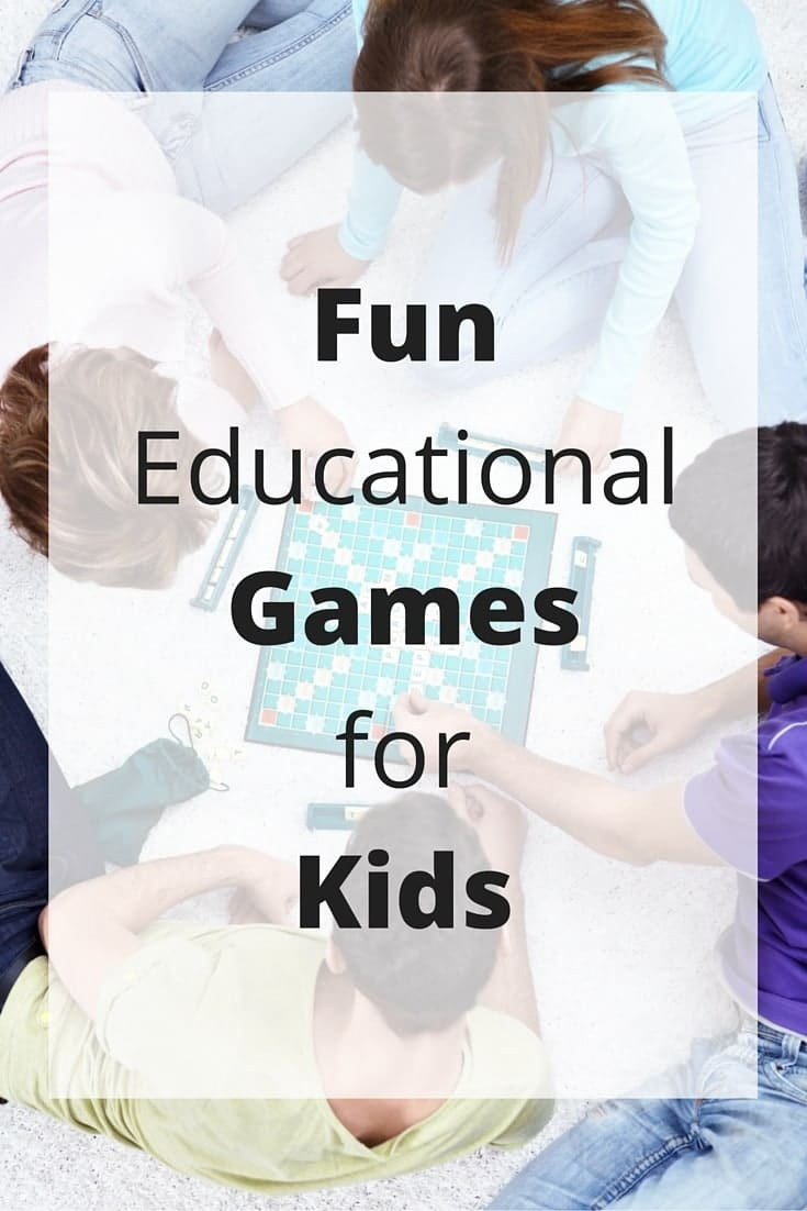 Learning is easy with the right fun educational games for kids. This list is full of great games for kids of all ages that will stimulate their brains. #educationalgames #kidsgames #kidsactivities #games via @wondermomwannab