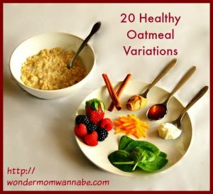 20 Healthy & Delicious Oatmeal Variations