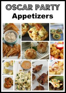 Oscar Party Appetizers