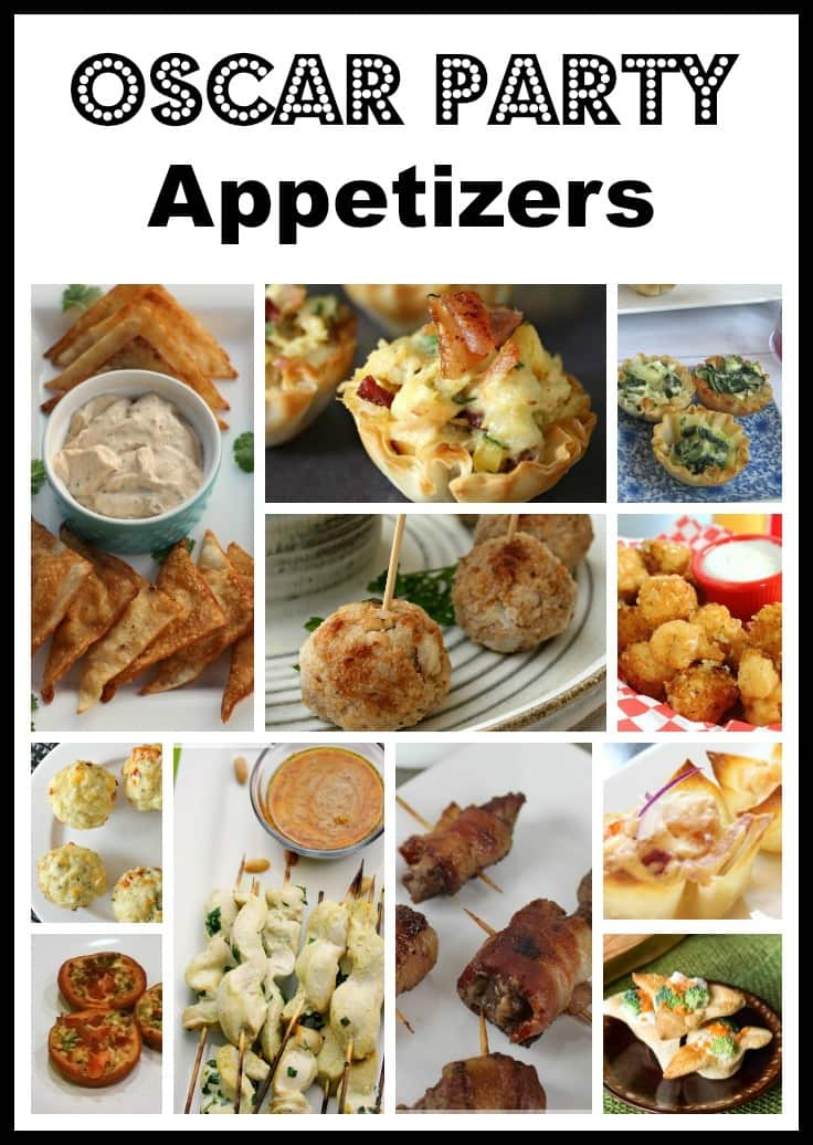 If you love movies and love to throw a party, here's a collection of Oscar party appetizers that will impress your guests and satisfy their taste buds. #appetizers #partyfood #oscarparty #oscars via @wondermomwannab