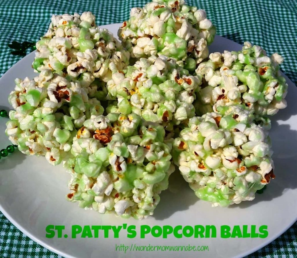 St Patty Popcorn Balls 3