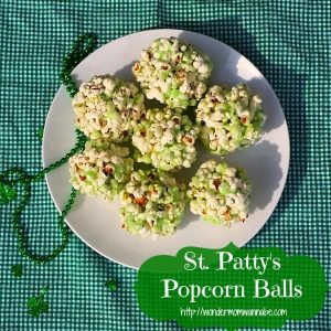 St. Patty's Popcorn Balls