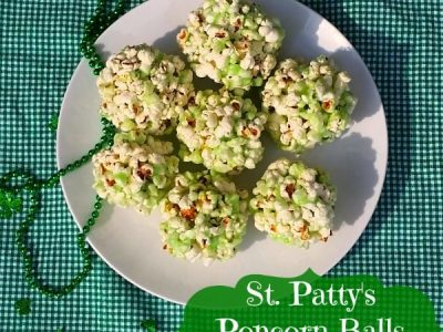 St. Patty's Popcorn Balls