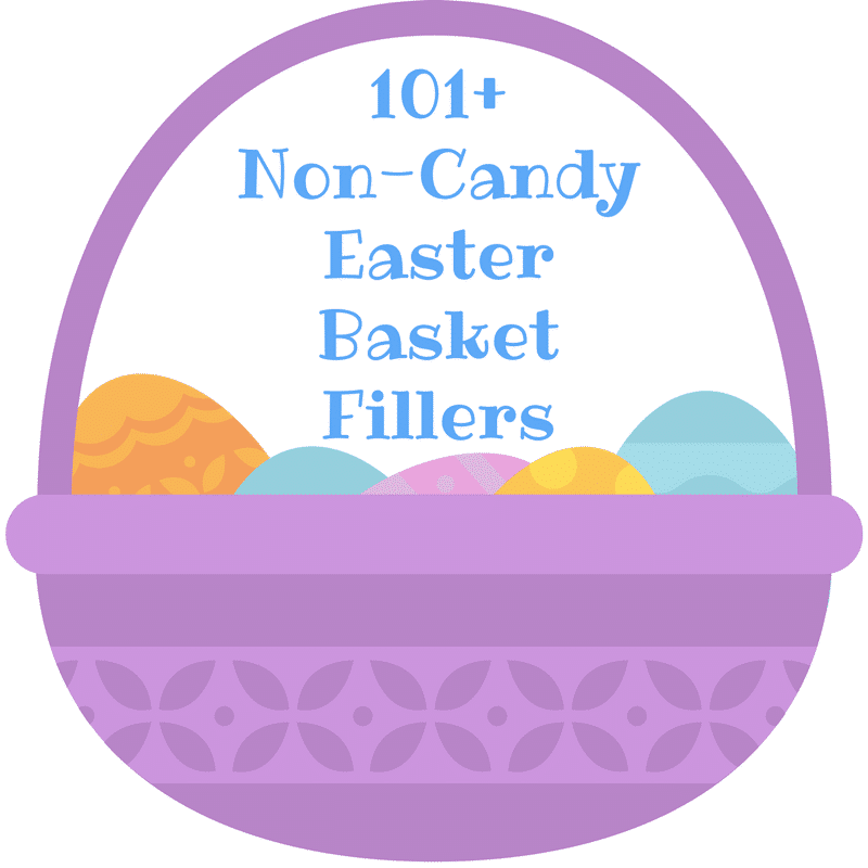 101 easter basket filler ideas free printable lists for Non traditional easter dinner ideas