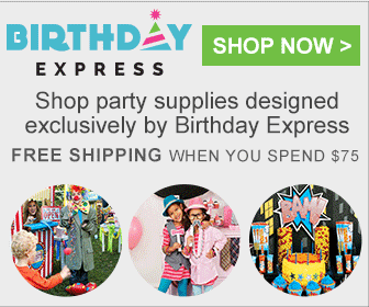Birthday express ad