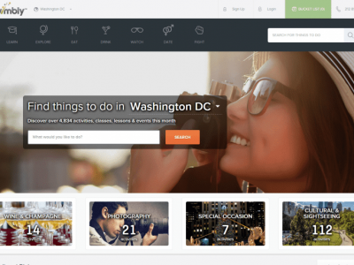 Vimbly things to do in Washington DC