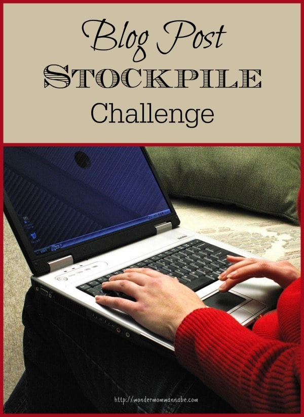 Blog Post Stockpile Challenge