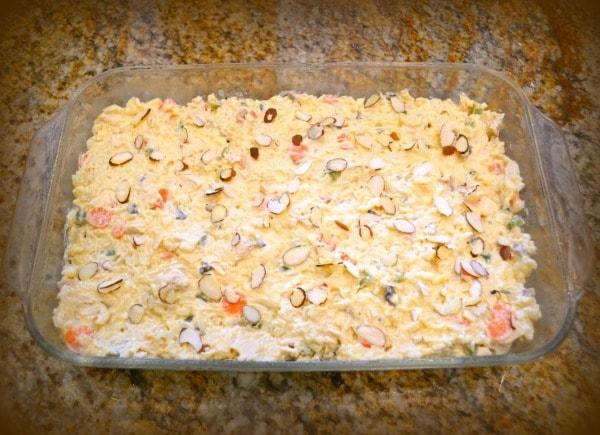 Creamy Garden Chicken Casserole Ready to Bake