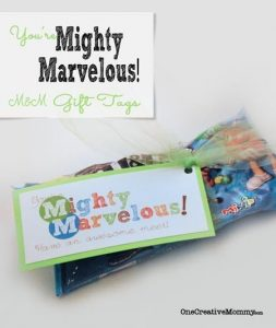 Mighty Marvelous Gift Idea with Printables