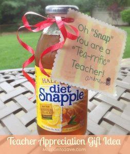 Oh Snap(ple) Gift Idea