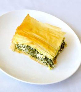It's All Greek to Me Spanakopita (Spinach Feta Pie) Recipe