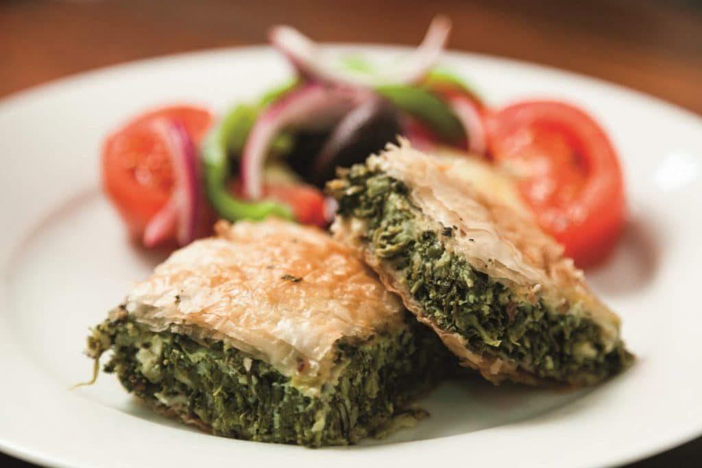 Spanakopita (Spinach Feta Pie)