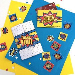 Super Hero Gift Card Holders