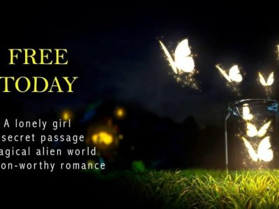 """Free today. A lonely girl a secret passage a magical alien world a swoon worthy romance"""