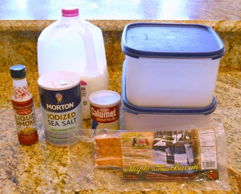 Bacon Bread Ingredients