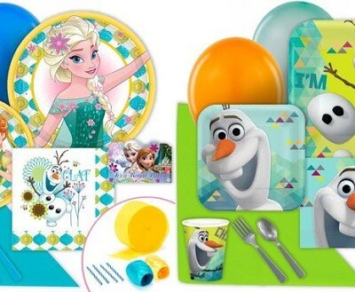 Frozen themed birthday supplies