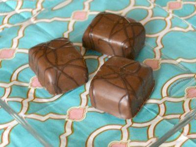 Salted caramel brownie bliss treats