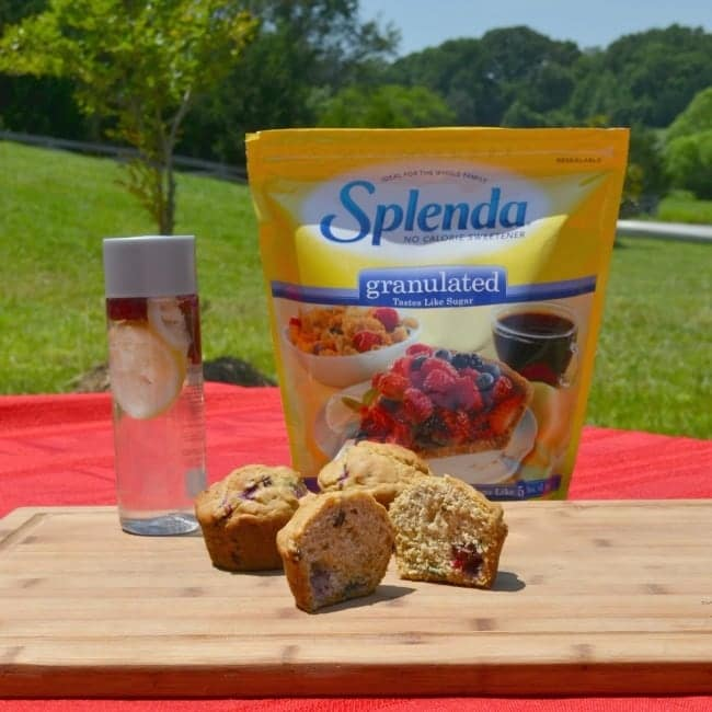 Splenda SWEET SWAPS Cranberry Walnut Muffin Tennis Treat