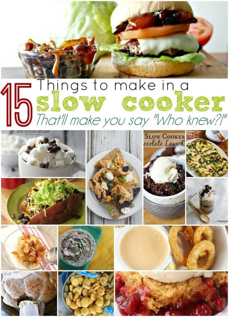 "15 Things to Make in a Slow Cooker That'll Make You Say ""Who Knew?"" from Moments with Mandi"
