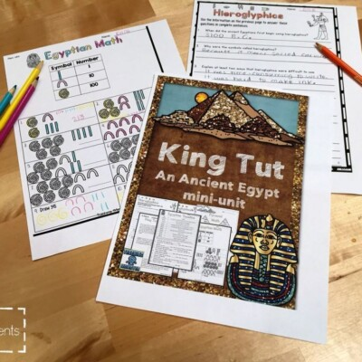 Egyptian activities for kids