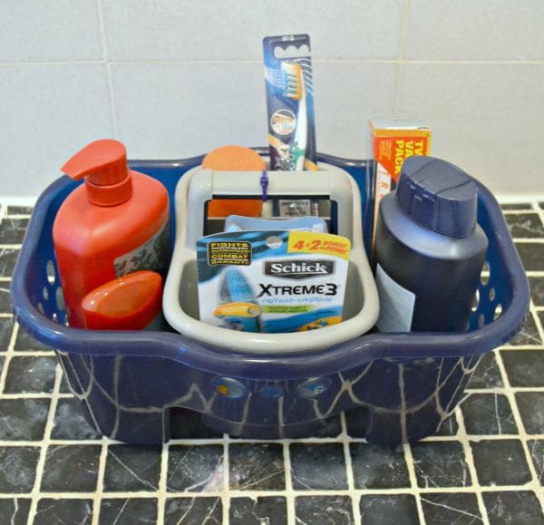 Bathroom Kit idea for a college care package