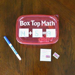 Box Top Math