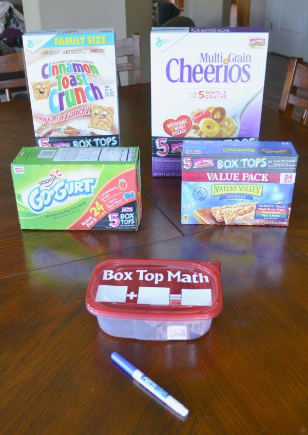 Bonus Box Tops Math