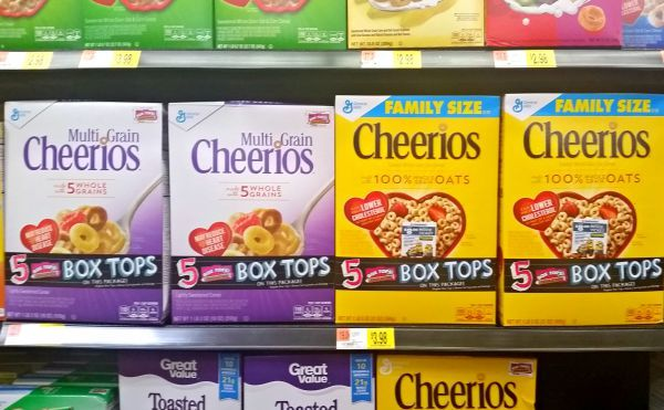 Cheerios Box Tops
