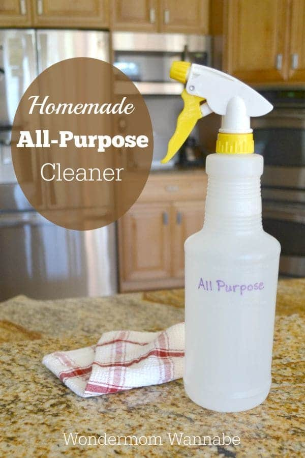 homemade all purpose cleaner cleaning products 31662