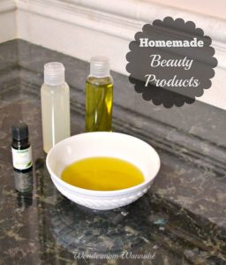 Homemade Beauty Products Using Rosemary Essential Oil
