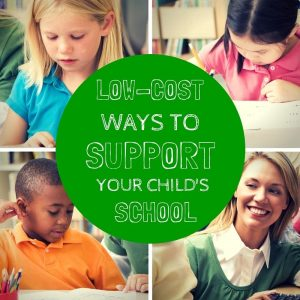 Low-Cost Ways to Help Your Child's School