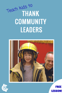 Teach Kids to Thank Community Leaders