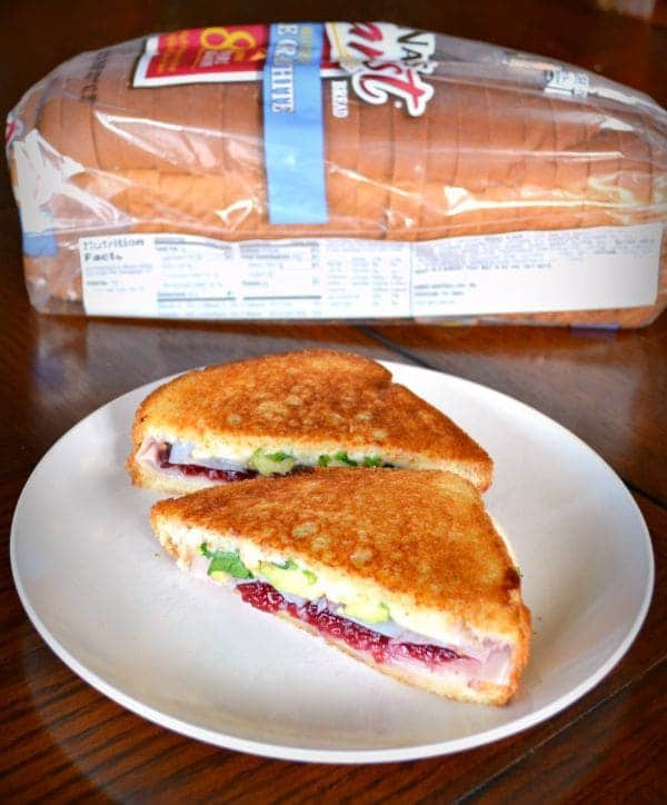 Turkey Cranberry Avocado Sandwich