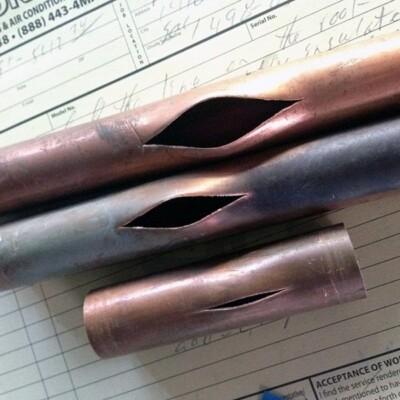 3 broken pipes