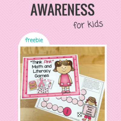 Breast cancer awareness game for kids