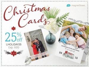 Christmas Card Guide from MagnetStreet.com