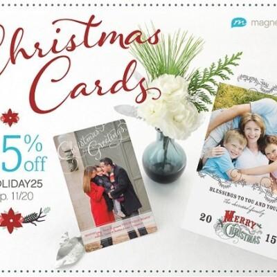 magnetstreet Christmas cards ad