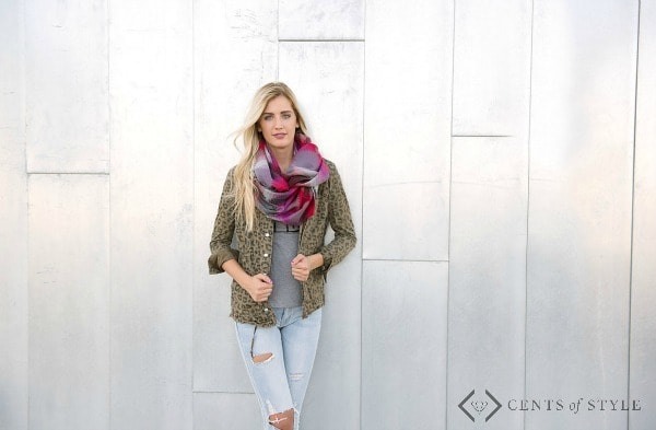 Traditional Blanket Scarf Styling