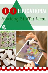 Educational Stocking Stuffer Ideas