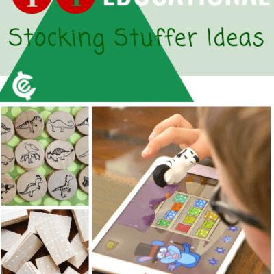 14 educational stocking stuffer ideas
