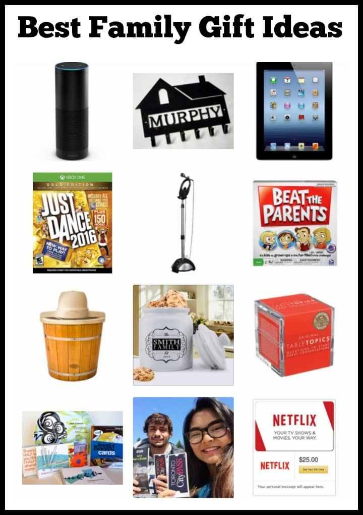 best family gift ideas