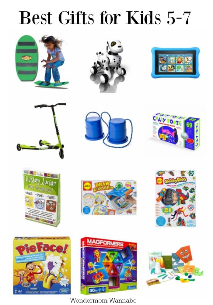 Best Gifts for Kids 5-7 Years Old