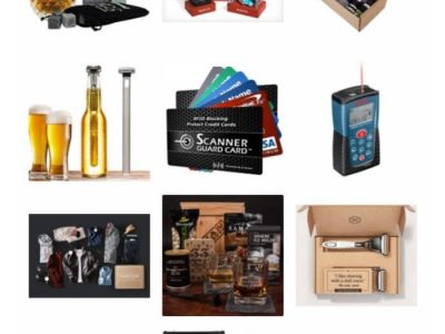 Men are so hard to shop for because they don't like to admit they need anything and they're not always the open book we'd like them to be. This gift guide is full of ideas that most men will love.