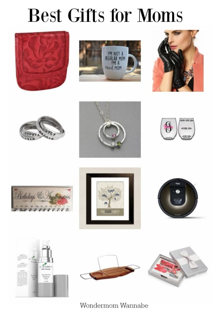 No matter how old you are, trying to figure out what to buy for mom is tough. That's why I've put together a list of the best gifts for moms. #giftguide #giftideas #formom #giftsformom via @wondermomwannab